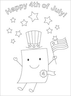 cute july coloring pages free printable 4th of july coloring pages paper trail design cute pages july coloring