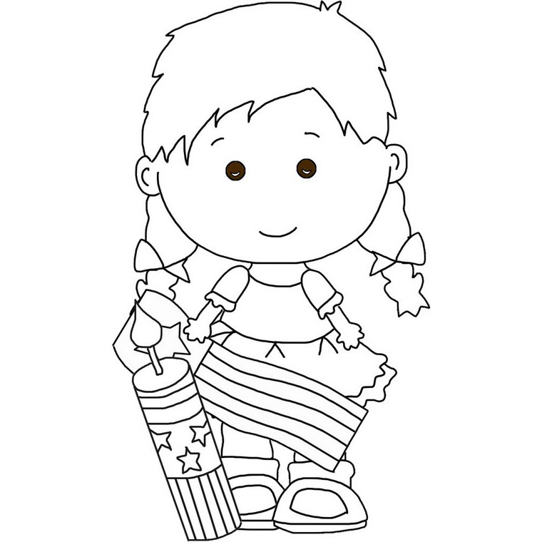 cute july coloring pages happy 4th of july coloring pages at getcoloringscom july cute coloring pages
