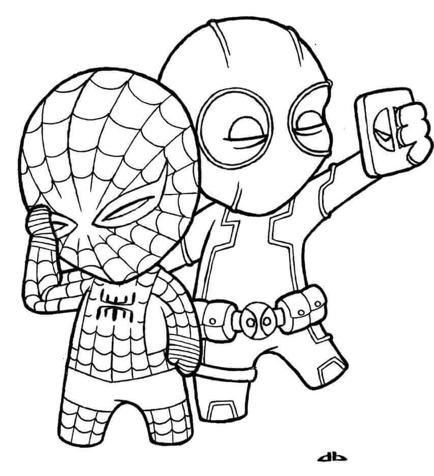 cute marvel coloring pages avengers chibi version by skulpin16 on deviantart marvel cute coloring pages