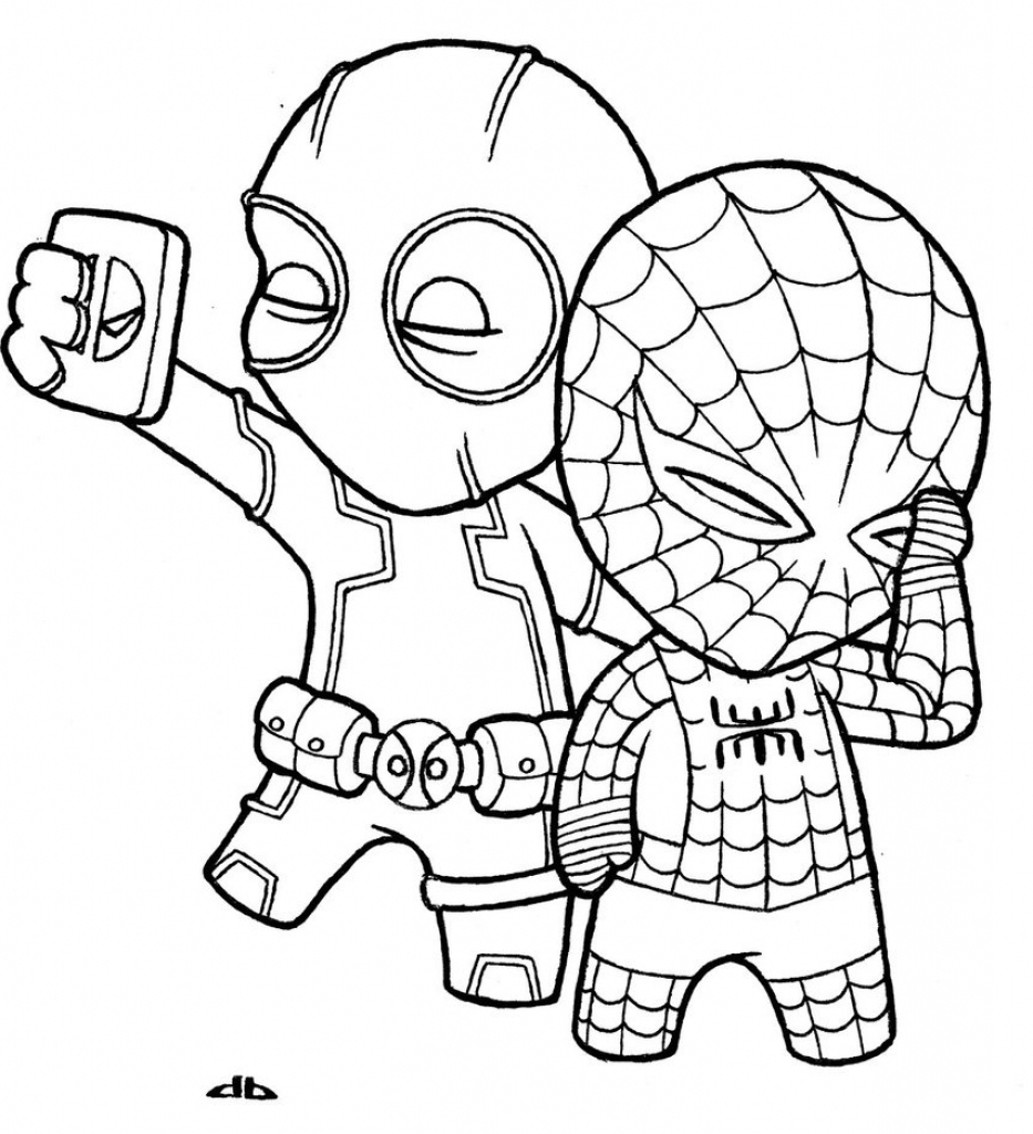 cute marvel coloring pages chibi ghost rider coloring page free printable coloring pages coloring marvel cute