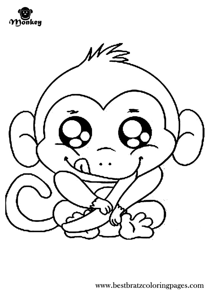 cute monkey coloring pages cute baby monkey coloring pages printables coloring home monkey pages coloring cute