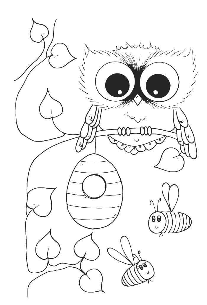 cute owl coloring pictures cute owl coloring pages to print coloring home owl cute pictures coloring