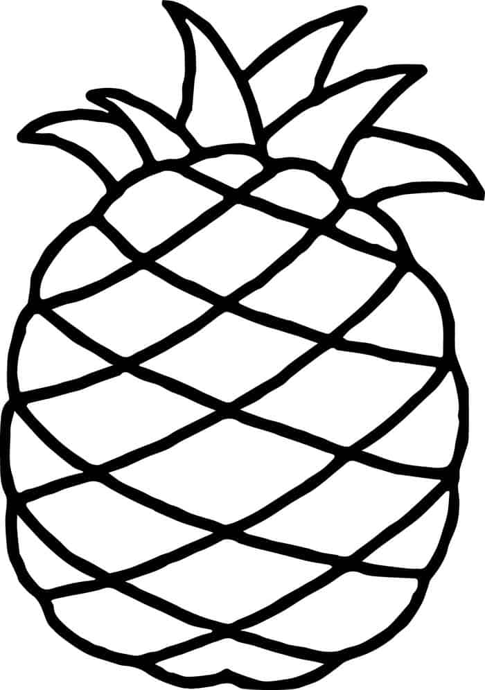 cute pineapple coloring page cute pineapple singing a song coloring page download pineapple coloring page cute