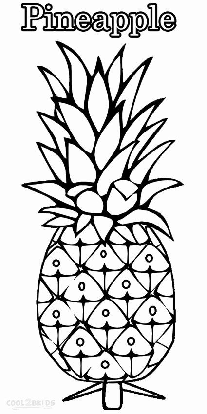 cute pineapple coloring page image result for pineapple coloring page pineapple pineapple page coloring cute