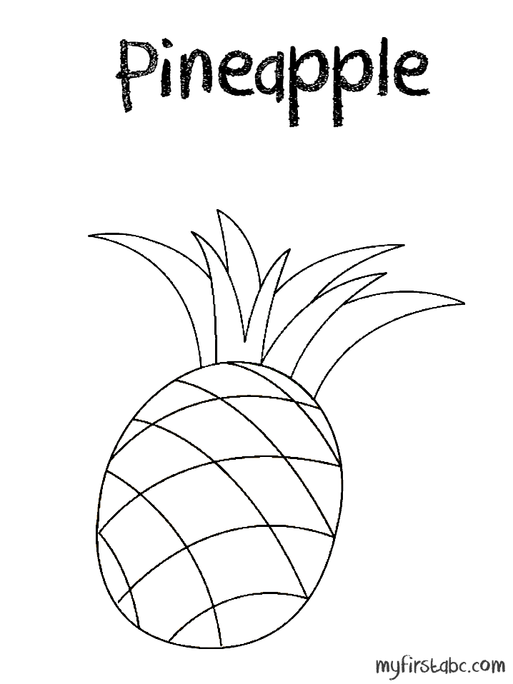 cute pineapple coloring page pineapple coloring page sketch coloring page page pineapple cute coloring