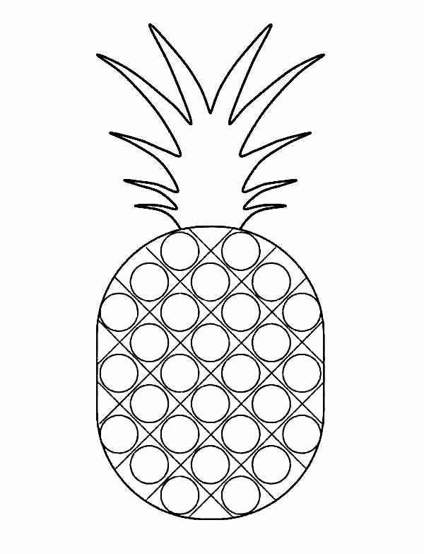 cute pineapple coloring page pineapple coloring page sweet caribbean pineapple coloring pineapple page cute