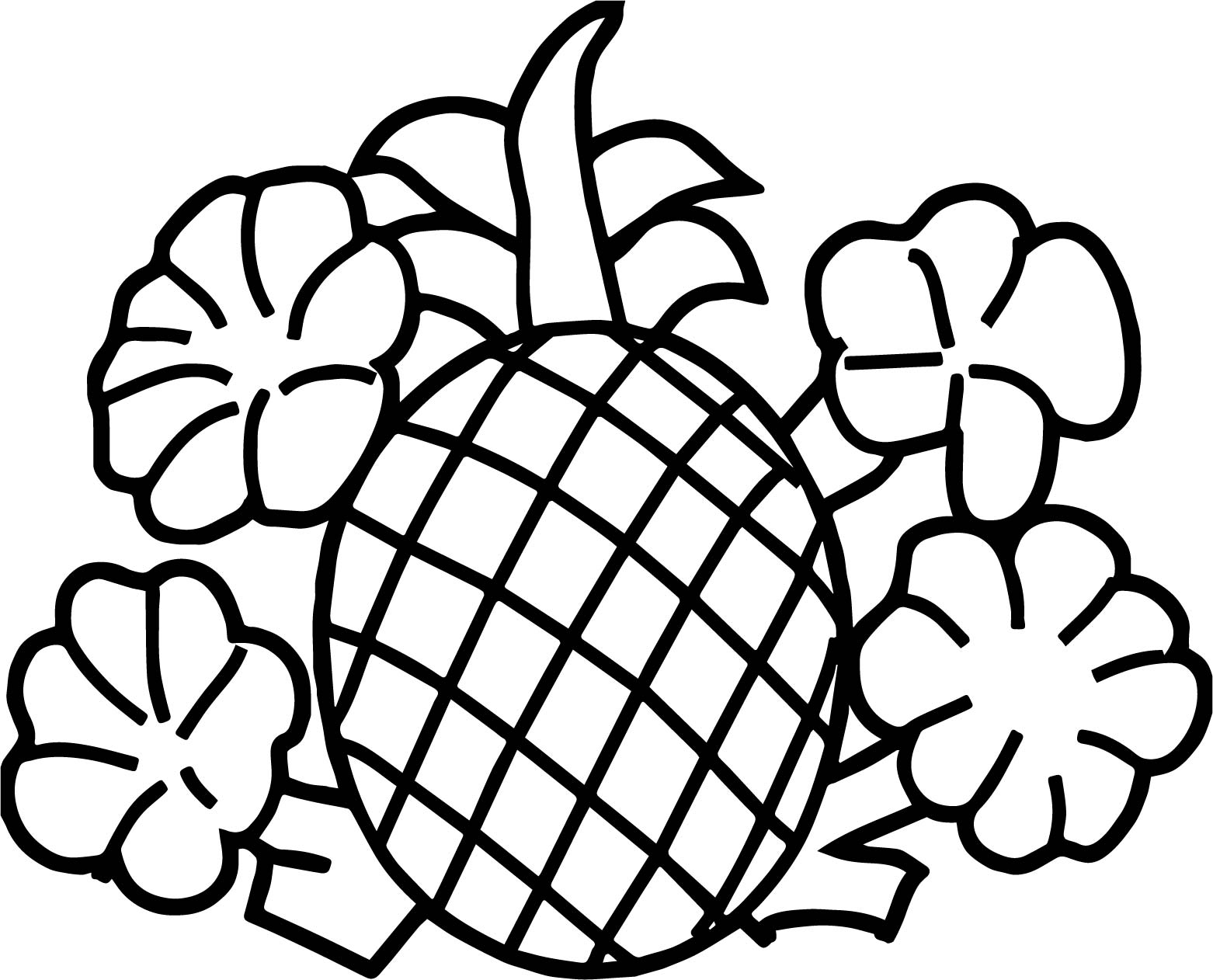 cute pineapple coloring page pineapple coloring pages to download and print for free page pineapple coloring cute