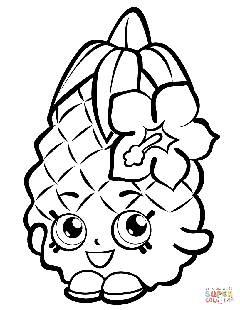 cute pineapple coloring page pineapple outline free download on clipartmag cute pineapple page coloring