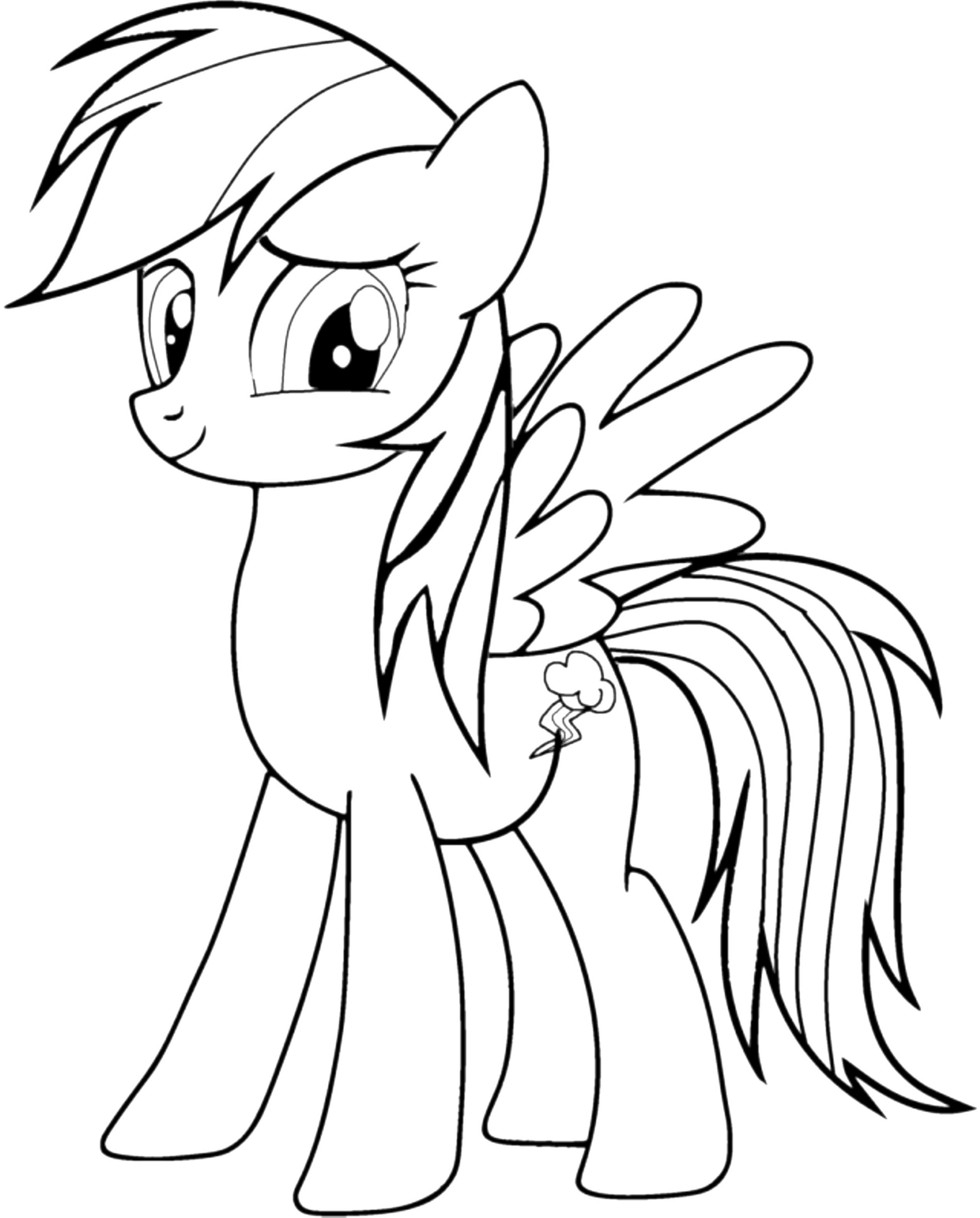 cute pony coloring pages cute my little pony coloring pages rainbow dash cute coloring pony pages