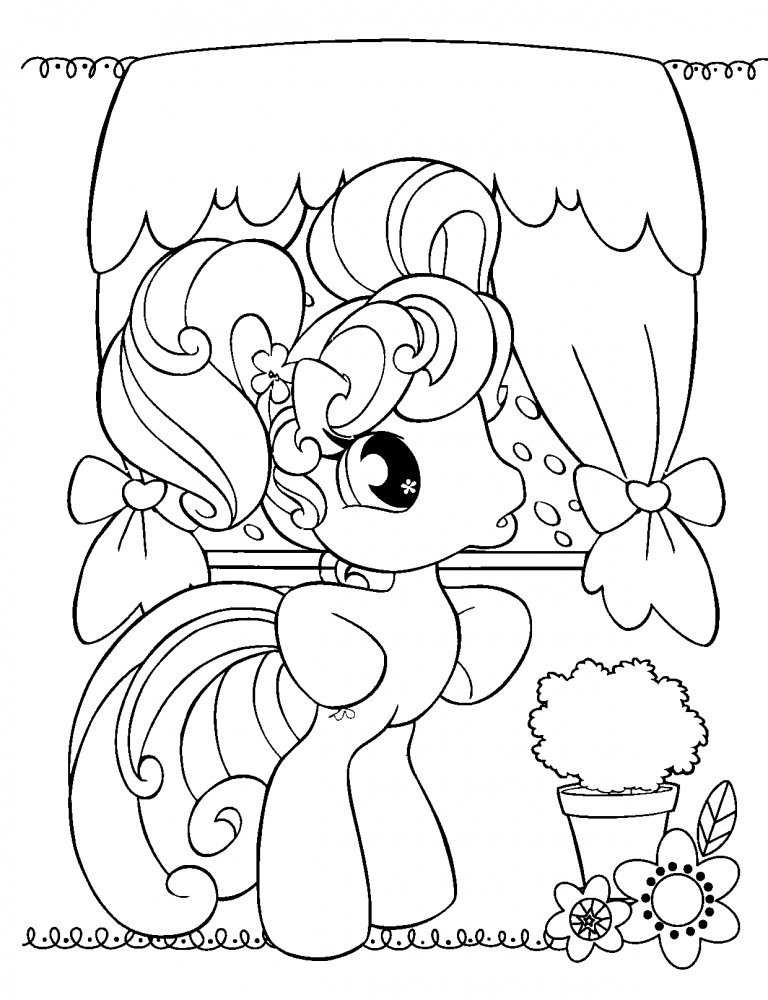 cute pony coloring pages free printable my little pony coloring pages for kids my coloring pages pony cute