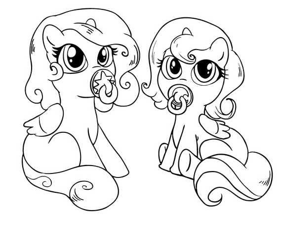 cute pony coloring pages my little pony cute baby ponies coloring page my little pages coloring pony cute
