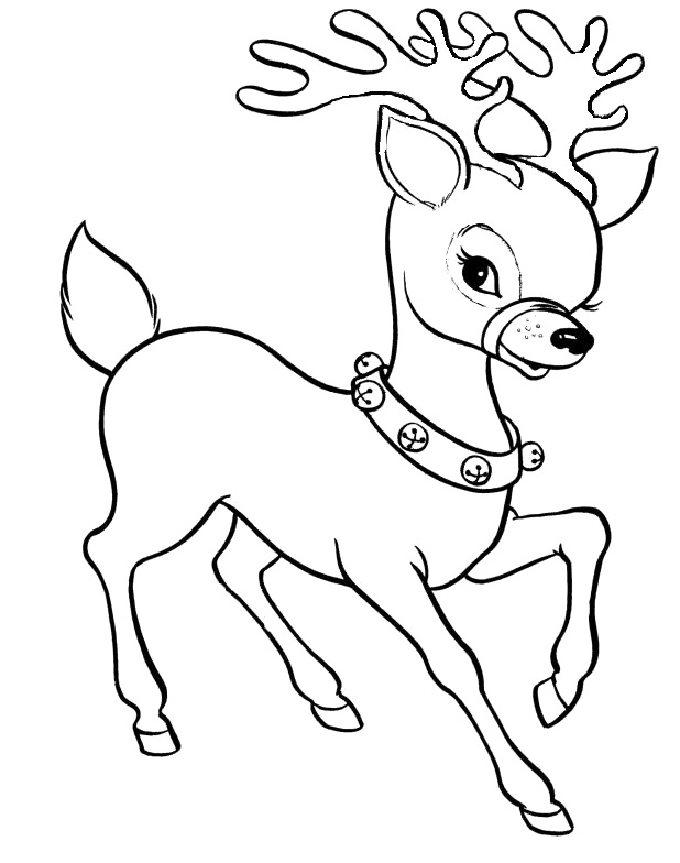 cute reindeer coloring pages baby reindeer coloring pages download and print for free cute reindeer coloring pages