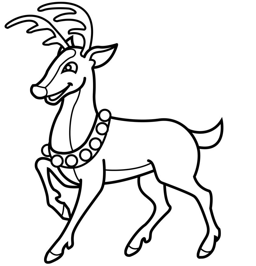 cute reindeer coloring pages reindeer coloring pages to download and print for free coloring pages cute reindeer