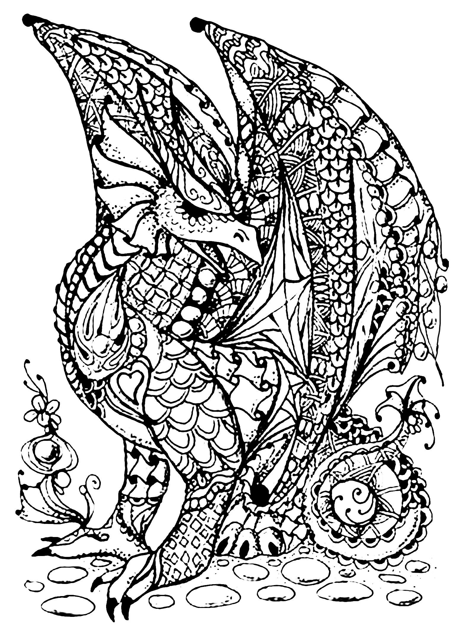 d is for dragon coloring page dragon coloring page by strecno on deviantart d for dragon coloring page is