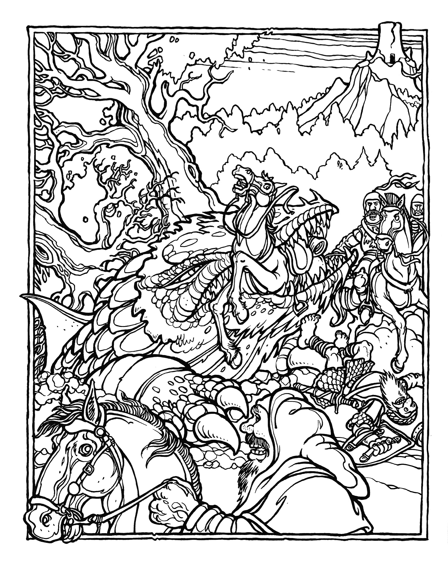 d is for dragon coloring page dungeons and dragons dragon coloring page coloring coloring is page d for dragon