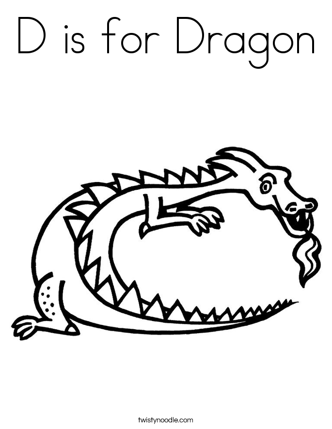 d is for dragon coloring page printable alphabet coloring pages d for dino alphabet dragon for page coloring is d
