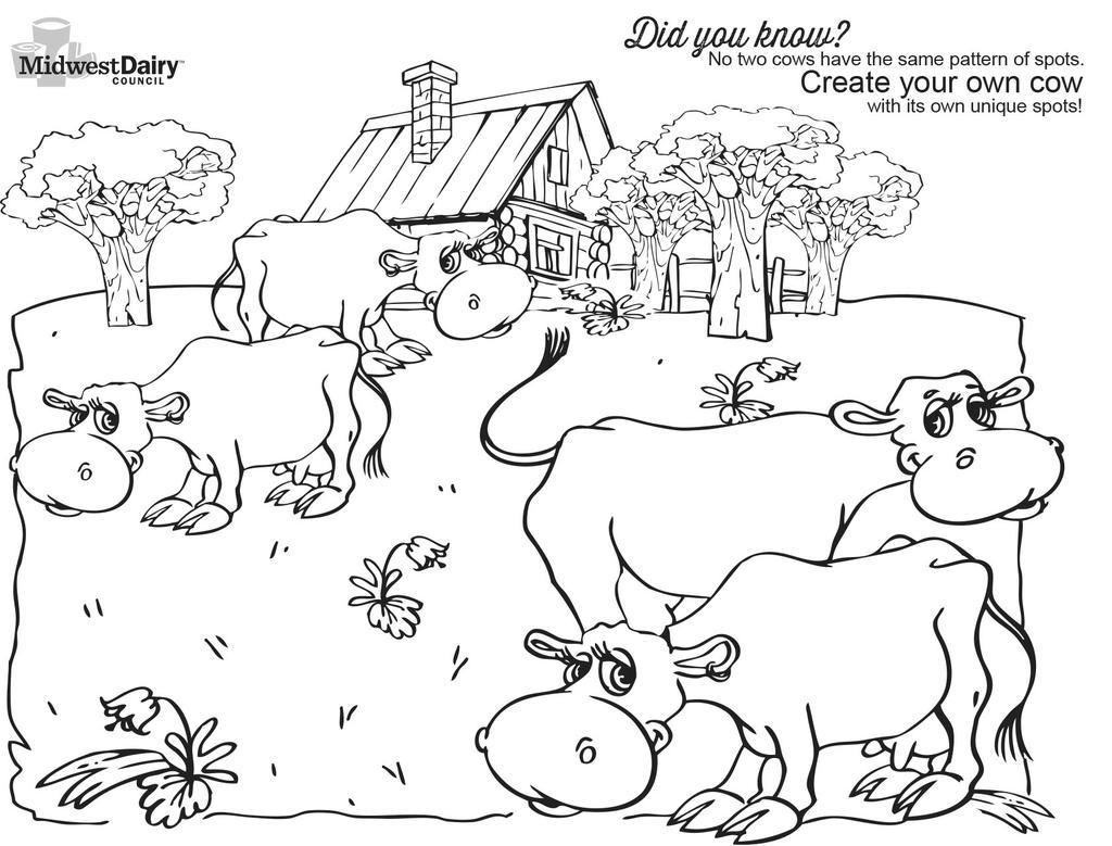 dairy farm coloring pages cow coloring pages getcoloringpagescom coloring farm dairy pages
