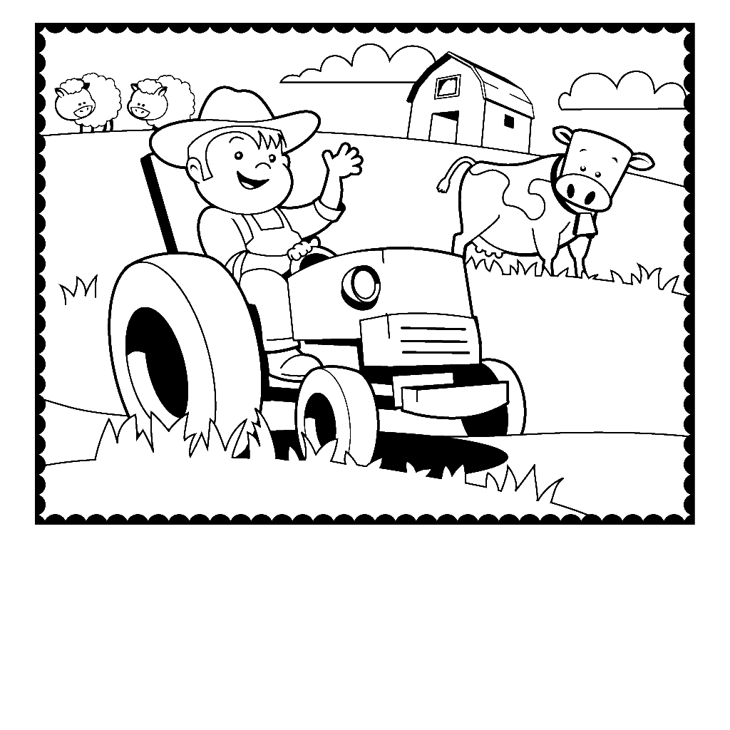 dairy farm coloring pages printable coloring cow page farm animal get coloring pages coloring farm pages dairy