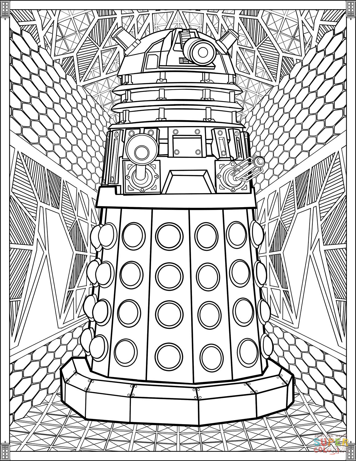 dalek pictures to colour dalek drawing at getdrawings free download colour dalek to pictures