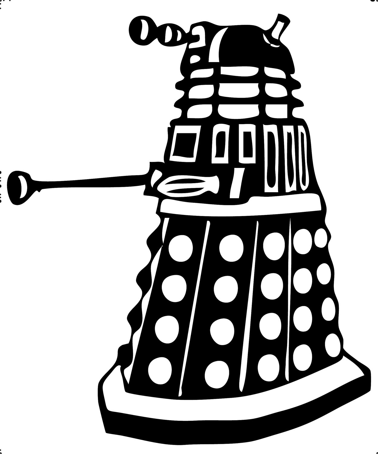 dalek pictures to colour dr who and dalaks free coloring pages colour dalek to pictures