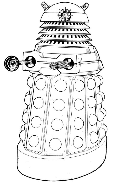 dalek pictures to colour free dalek coloring pages inspired by dr who pictures dalek to colour