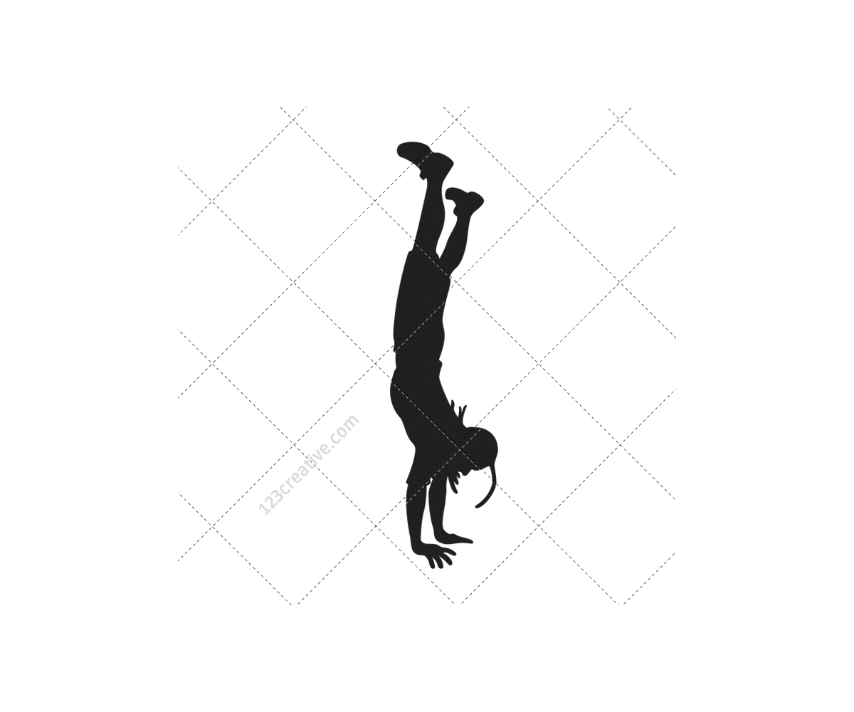 dancing girl silhouette breakdance silhouettes vector pack royalty free hip hop dancing silhouette girl