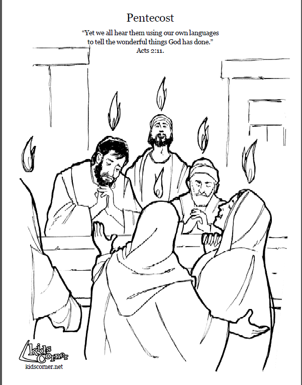 day of pentecost coloring pages pentecost coloring page color luna day of pentecost coloring pages