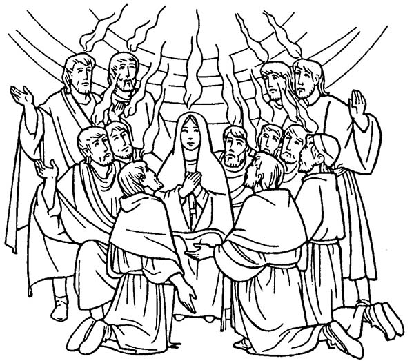 day of pentecost coloring pages pentecost coloring pages day pentecost of pages coloring