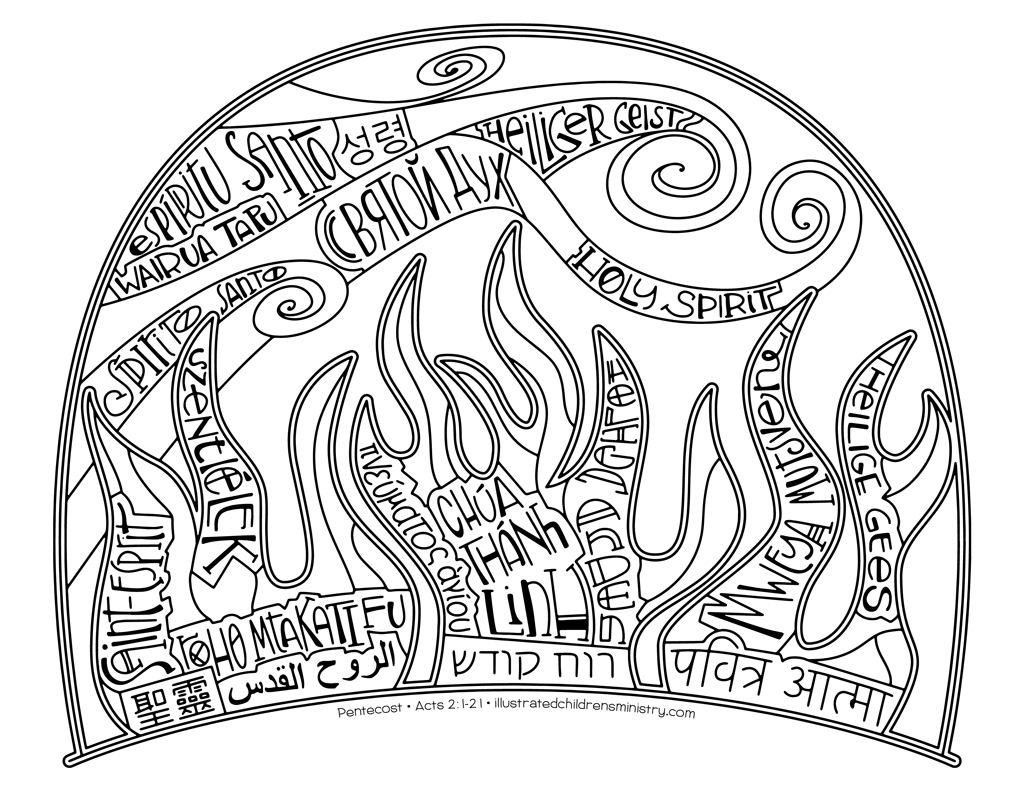 day of pentecost coloring pages pentecost coloring pages sketch coloring page coloring day pentecost of pages