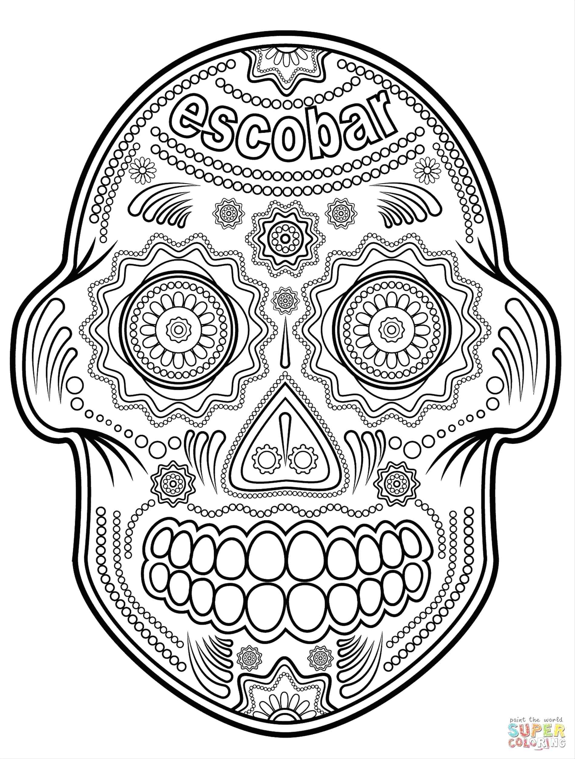 day of the dead skull coloring page day of the dead coloring pages el dia de los muertos 4 el page coloring skull dead the day of