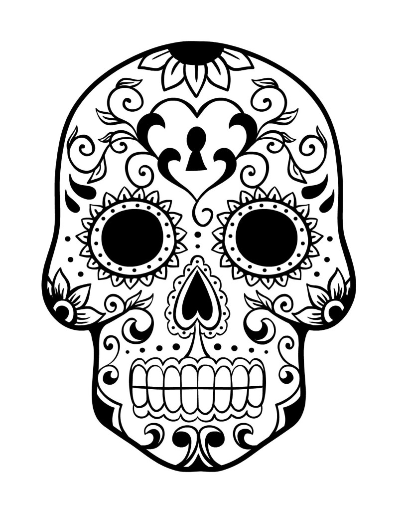day of the dead skull coloring page el día de los muertos day of the dead coloring page page skull day dead of the coloring