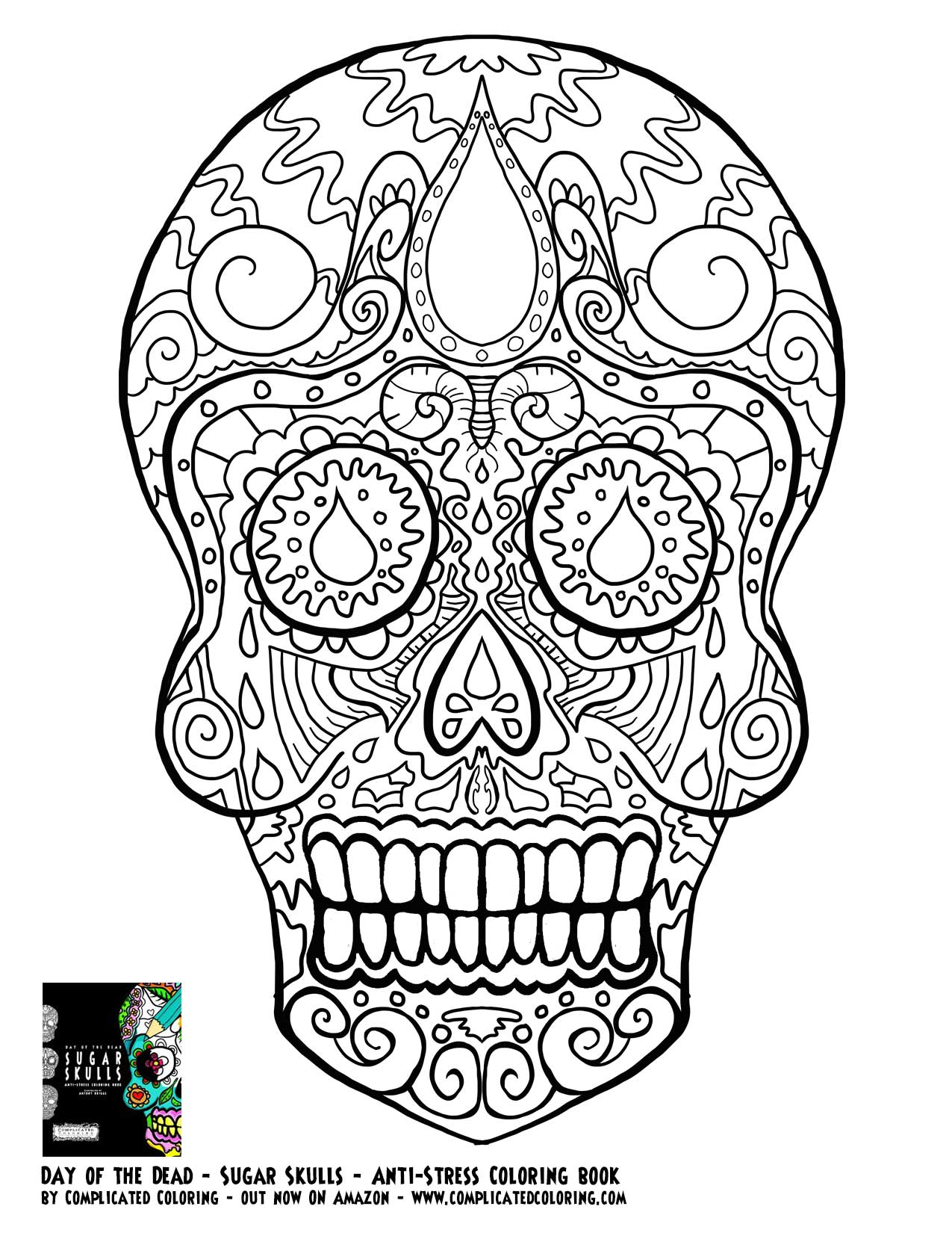day of the dead skull coloring page free skulls day of the dead coloring pages adult coloring skull page of the day dead