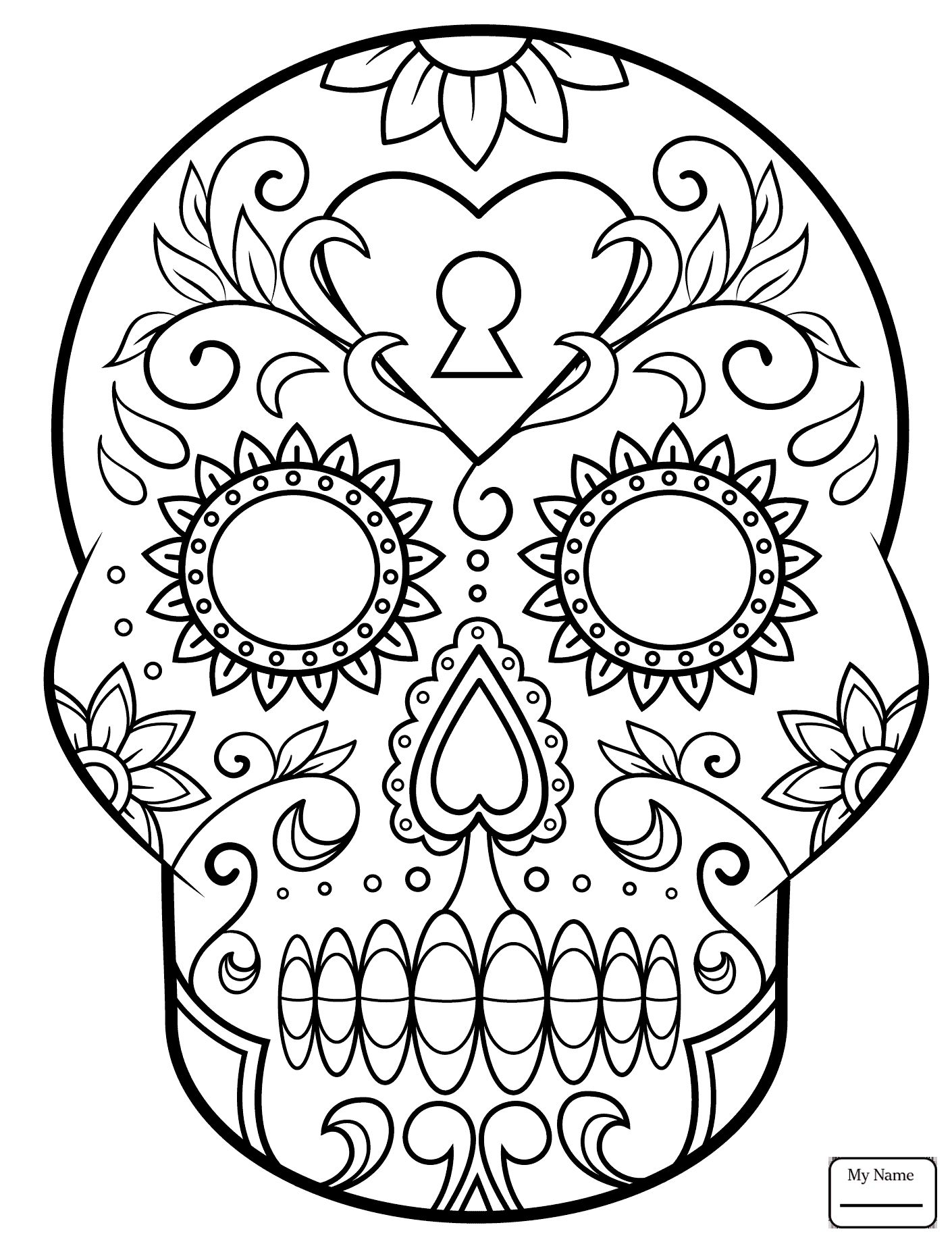 day of the dead skull coloring page sugar skull coloring pages coloring home skull day of dead coloring page the