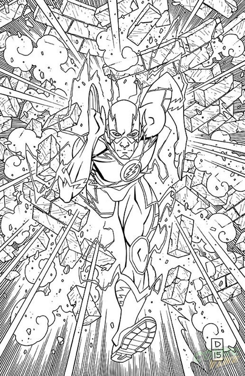 dc comics coloring pages dc comics flash coloring pages download and print for free pages coloring comics dc