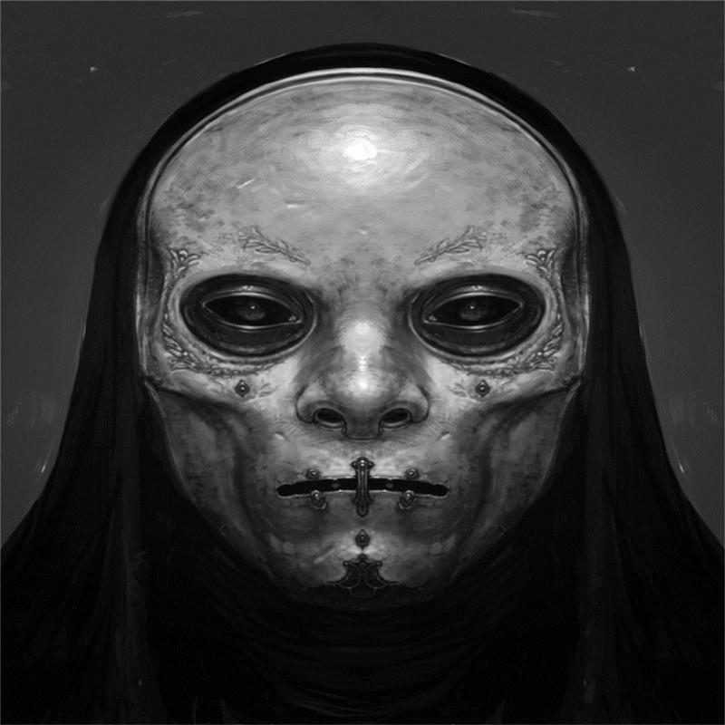 death eater mask rob bliss krop creative database death eater mask art death eater mask