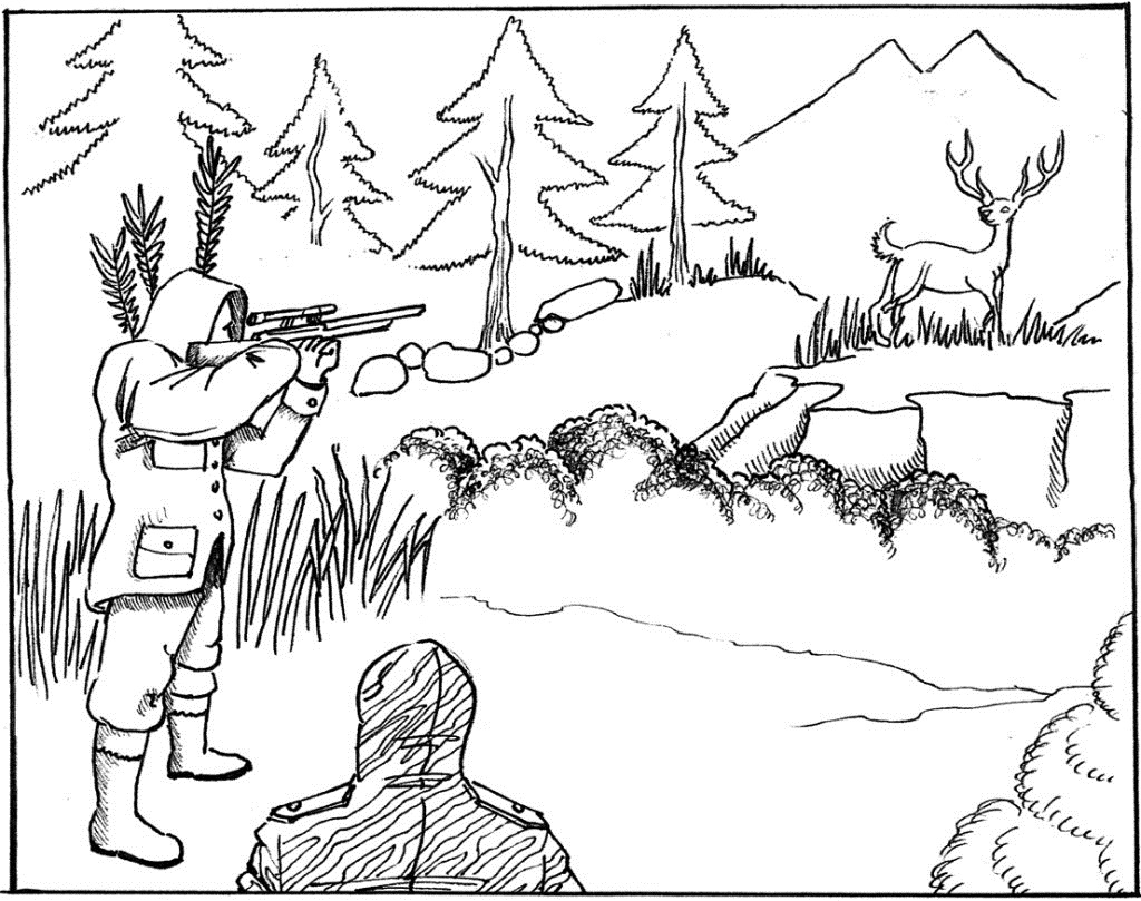 deer hunting coloring pictures hunting coloring page coloring home hunting pictures deer coloring
