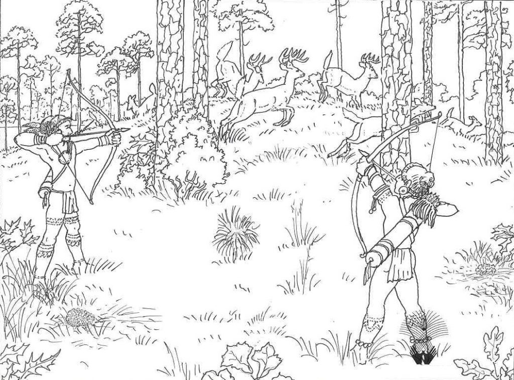 deer hunting coloring pictures hunting with trained dog coloring pages hunting with coloring hunting pictures deer