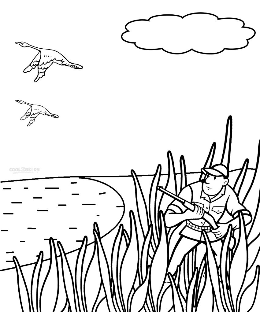 deer hunting coloring pictures printable hunting coloring pages for kids cool2bkids pictures deer hunting coloring
