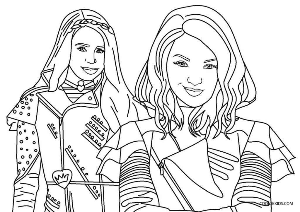 descendants 3 coloring pictures free printable descendants coloring pages for kids 3 pictures descendants coloring
