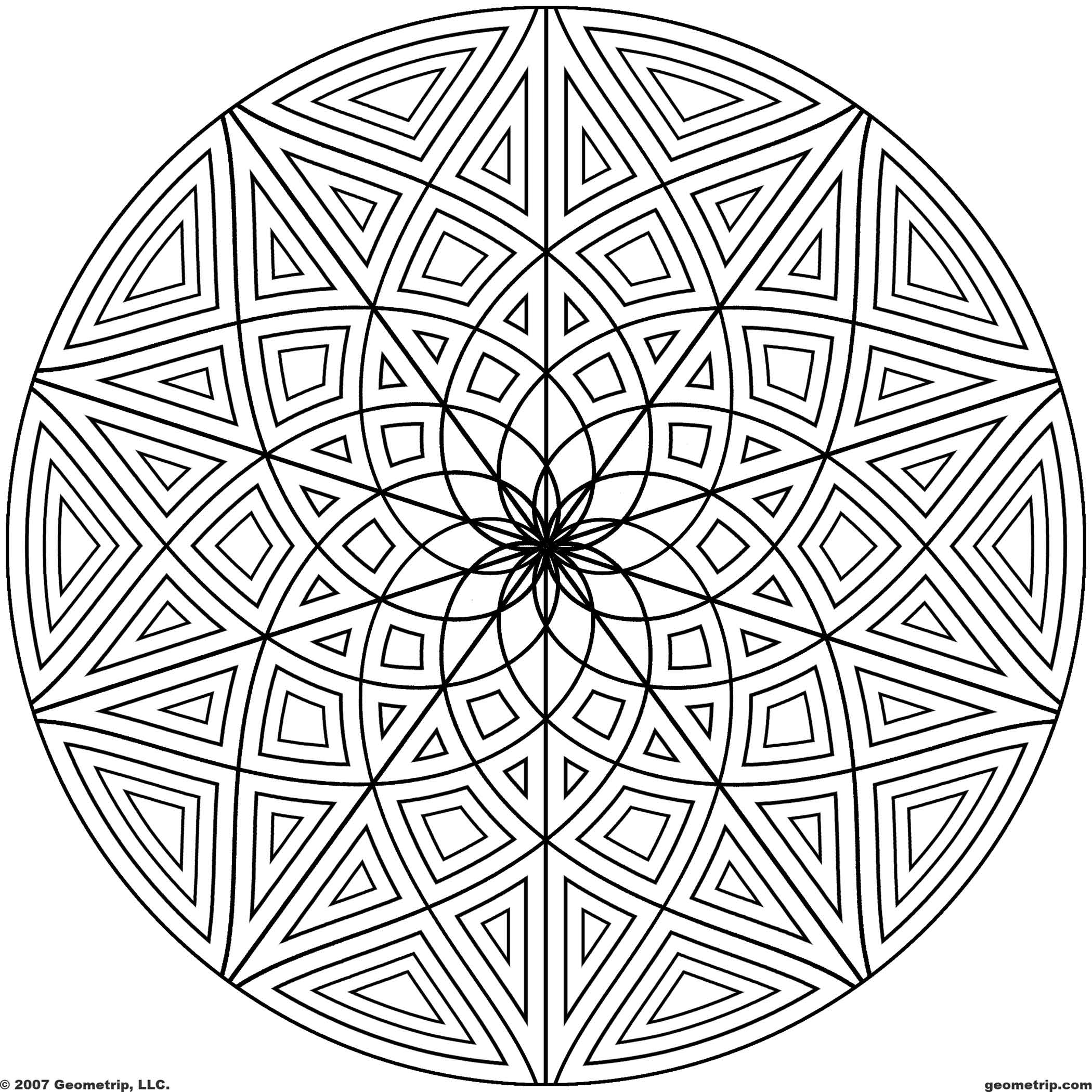 designs for coloring 6 best images of line designs geometry printable coloring for designs