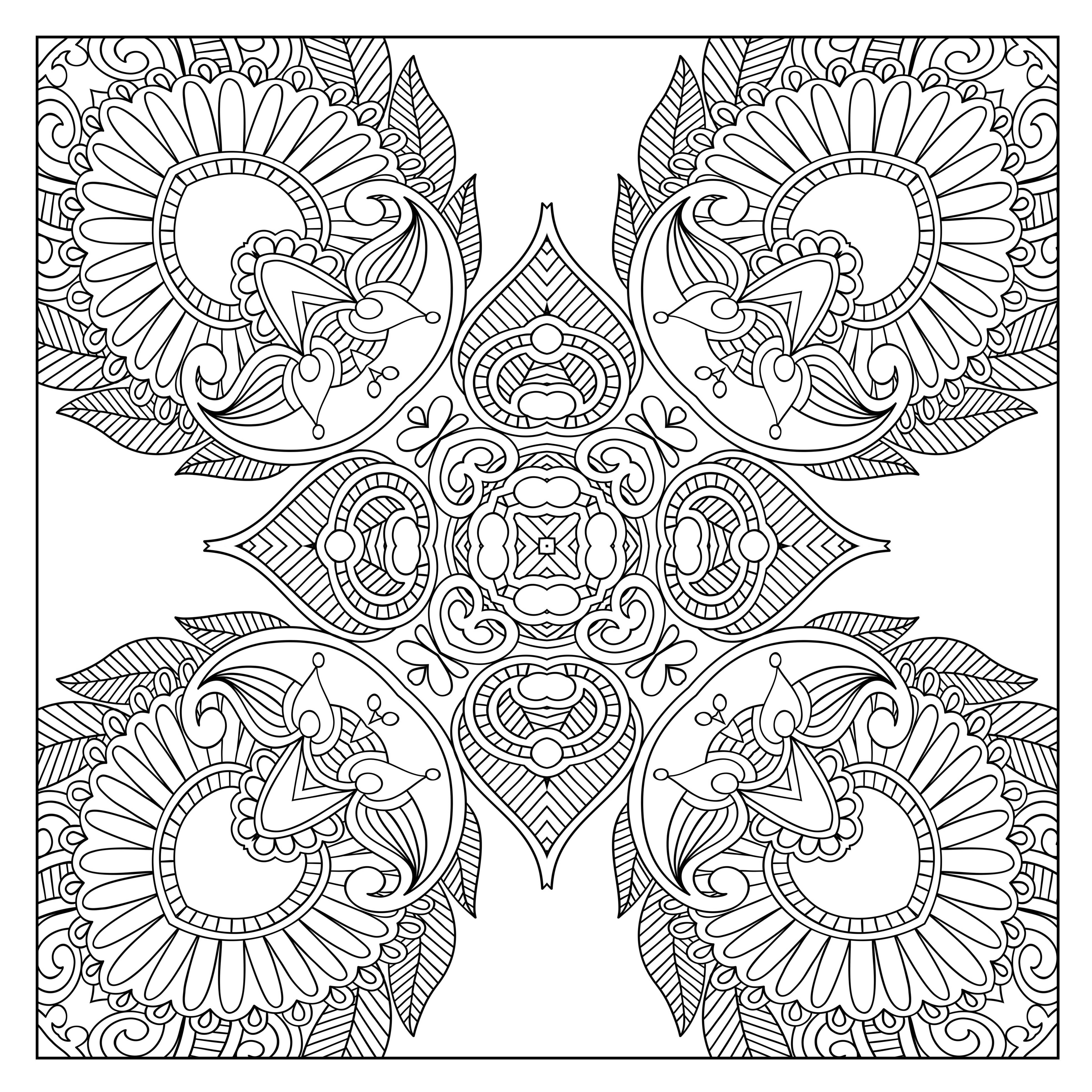 designs for coloring free printable geometric coloring pages for adults designs coloring for