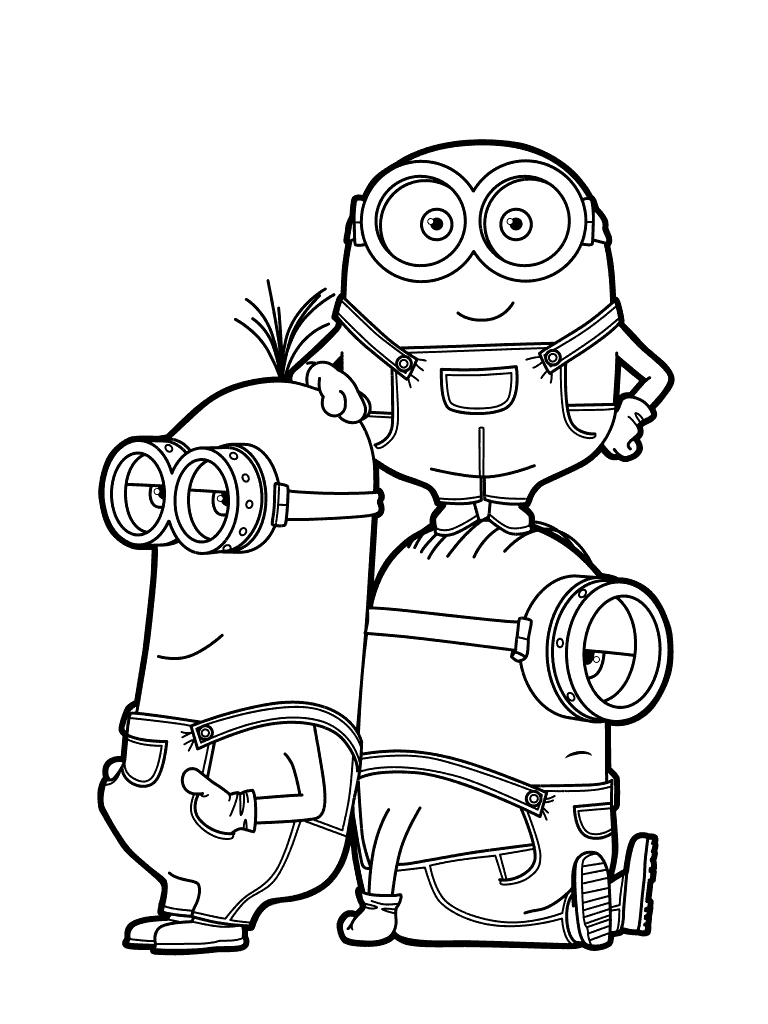 despicable me coloring pages despicable me 3 coloring pages to download and print for free despicable coloring pages me