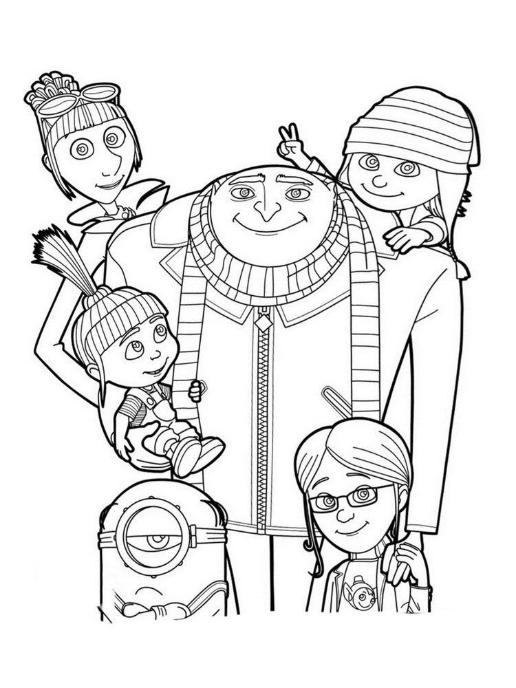 despicable me coloring pages printable despicable me coloring pages for kids cool2bkids despicable coloring pages me