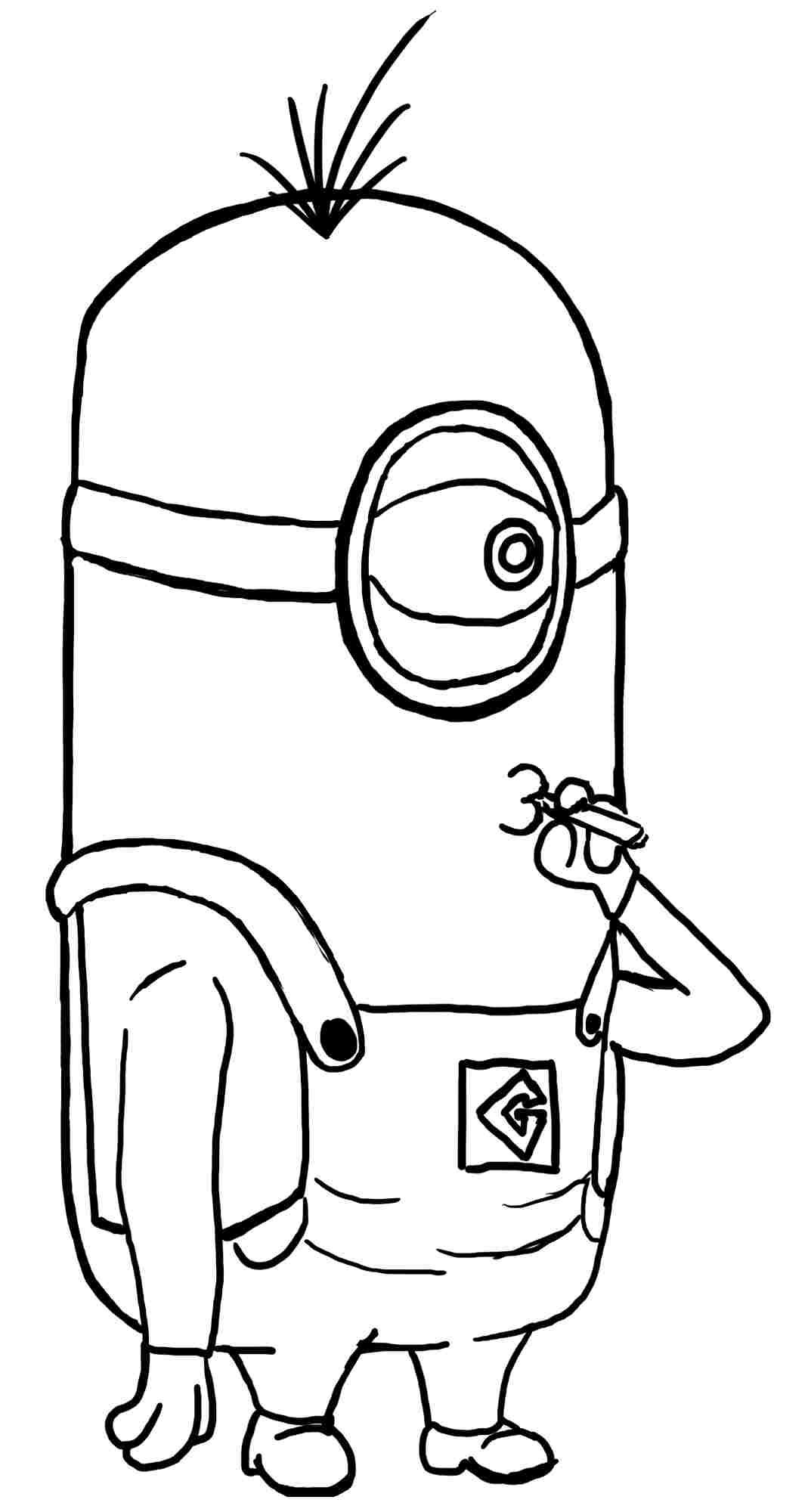 despicable me minions coloring pages despicable me 3 minion coloring page wecoloringpagecom coloring pages despicable me minions