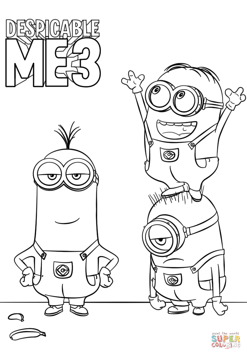 despicable me minions coloring pages minion despicable me coloring pages despicable me pages minions coloring