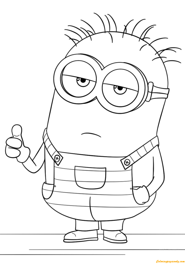 despicable me minions coloring pages smiley minion despicable me sb76d coloring pages printable me coloring despicable minions pages