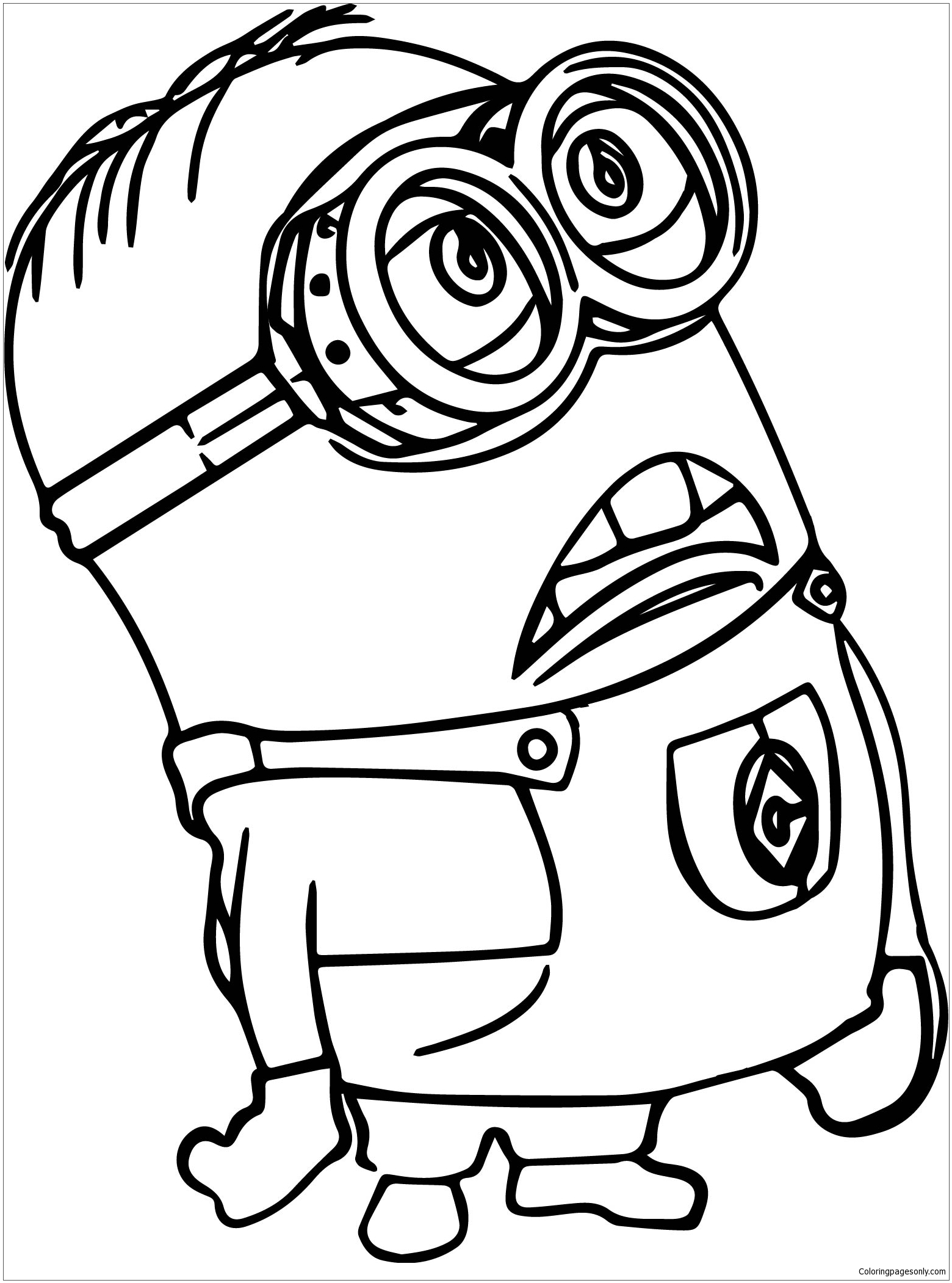 despicable me minions coloring pages to print minion coloring pages from despicable me for free coloring minions me pages despicable