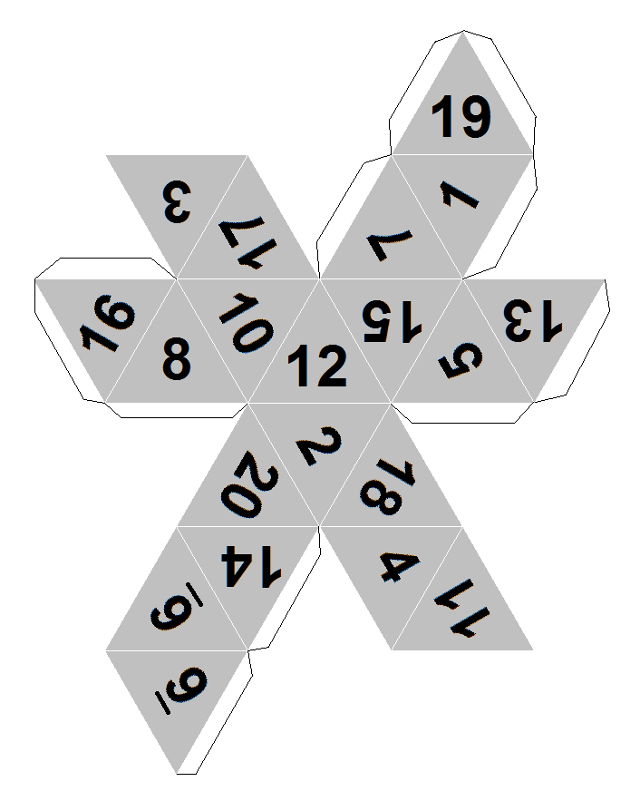 dice to print dicecollectorcom39s paper dice templates to dice print 1 1