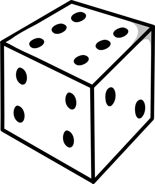 dice to print printable dice clipart best print to dice