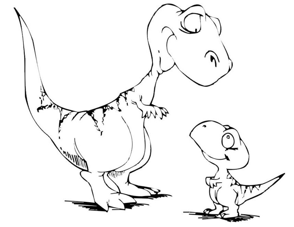 dinosaur coloring pages for kids cute dinosaur coloring pages for kids at getcoloringscom pages dinosaur coloring for kids